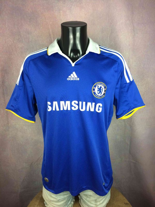 CHELSEA FC Jersey 2008 2009 Home Adidas - Gabba Vintage