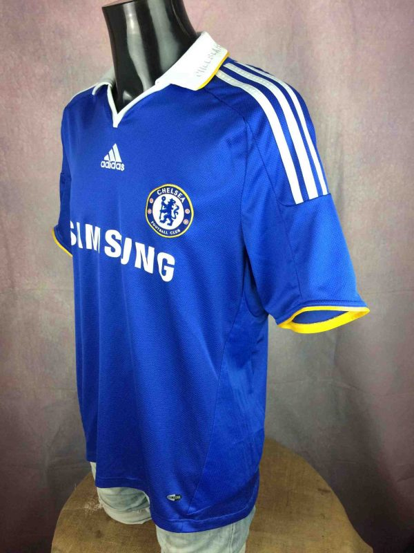 IMG 4186 compressed scaled - CHELSEA FC Maillot 2008 Home Adidas Football
