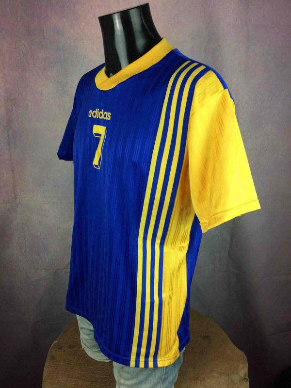 IMG 4301 compressed scaled - ADIDAS Maillot Vintage 90s N°7 Football