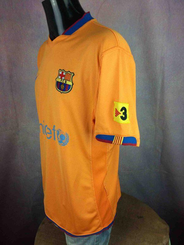 BARCELONA FC Jersey Eto'o Away Barca FCB