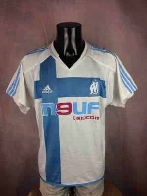 MARSEILLE Maillot 2004 2005 Home Adidas OM - Gabba Vintage