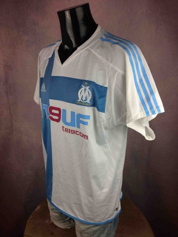 IMG 4874 compressed scaled - MARSEILLE Maillot 2004 2005 Home Adidas OM