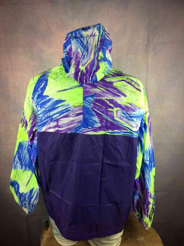 IMG 5982 compressed scaled - EXEL Rain Jacket Vintage 90s Rave Y2K Design