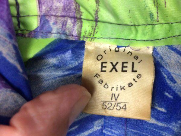 IMG 5983 compressed scaled - EXEL Rain Jacket Vintage 90s Rave Y2K Design