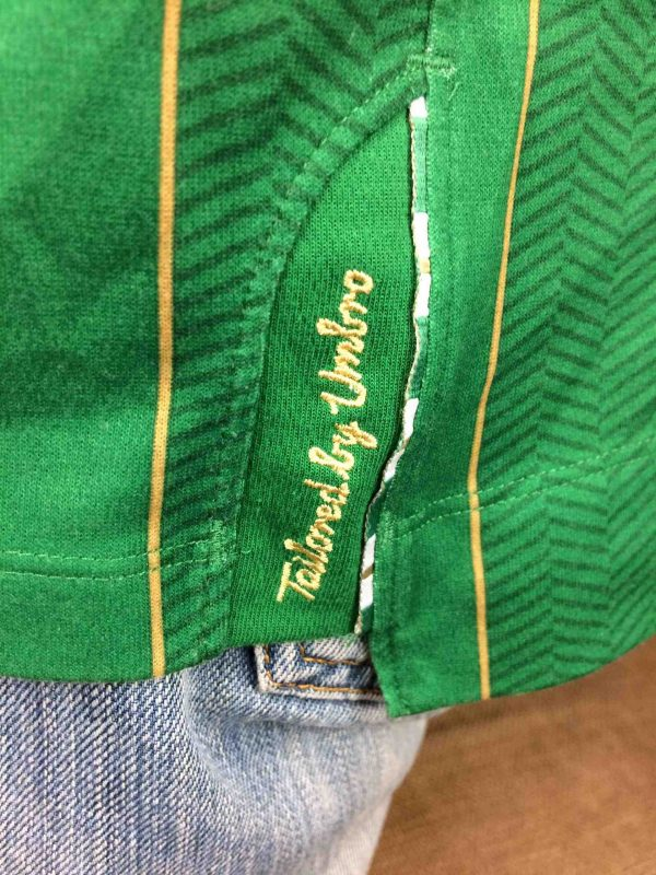 IRELAND Team Jersey 2011 2012 Home Umbro Gabba Vintage 5 scaled - IRELAND Team Maillot 2011 2012 Home Umbro