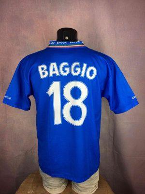 ITALIA Jersey Baggio 18 Euro Cup VTG Replica - Gabba Vintage