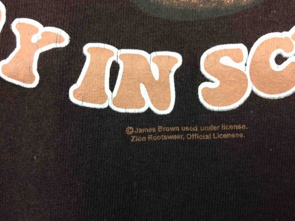 JAMES BROWN T Shirt Stay In School Official Gabba Vintage 4 scaled - JAMES BROWN T-Shirt Stay In School Official