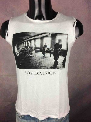 JOY DIVISION T Shirt Official Repetition Gabba Vintage 2 scaled - JOY DIVISION T-Shirt Official Cut-Off