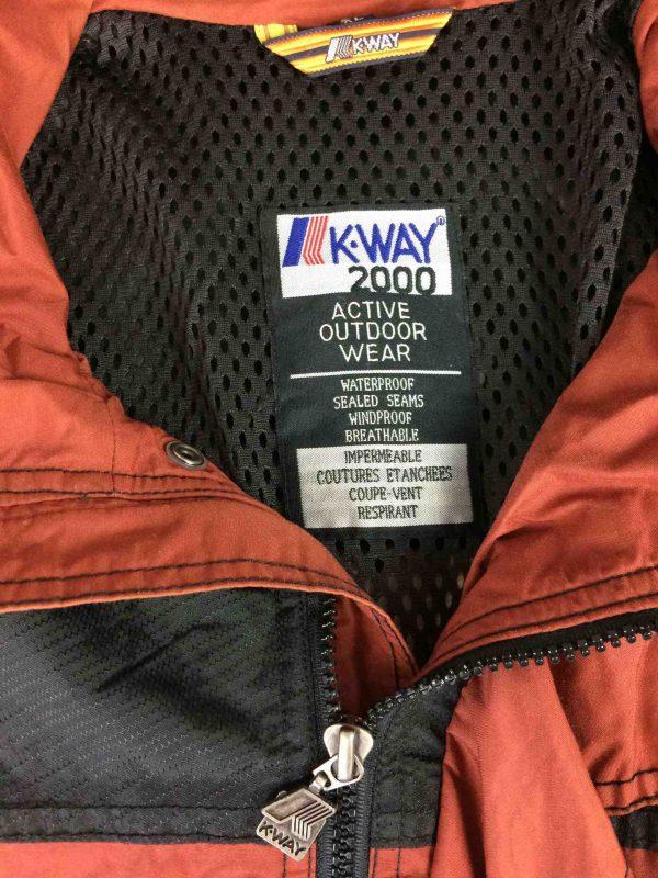 K WAY 2000 Jacket Veste Active Outdoor 00s Gabba Vintage 10 scaled - K-WAY 2000 Veste Active Outdoor Vintage 00s