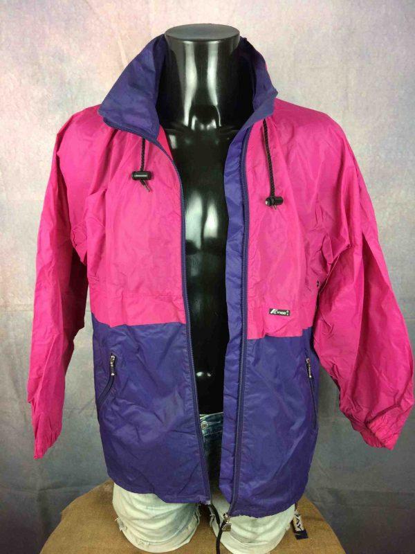 K WAY International Rain Jacket VTG 90s Y2K Gabba Vintage 4 scaled - K-WAY International Rain Jacket VTG 90s Y2K