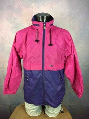 K-WAY International Rain Jacket VTG 90s Y2K - Gabba Vintage