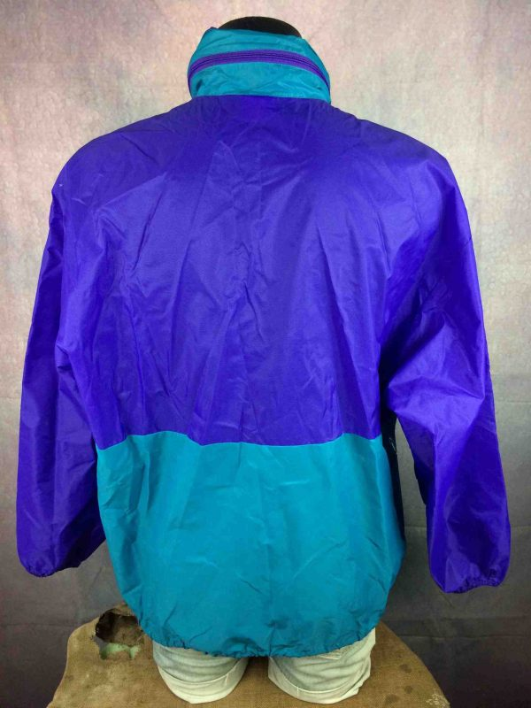 K WAY International Rain Jacket Vintage 90s Gabba Vintage 6 scaled - K-WAY International Veste Impermeable Vintage Années 90s Nylon Capuche