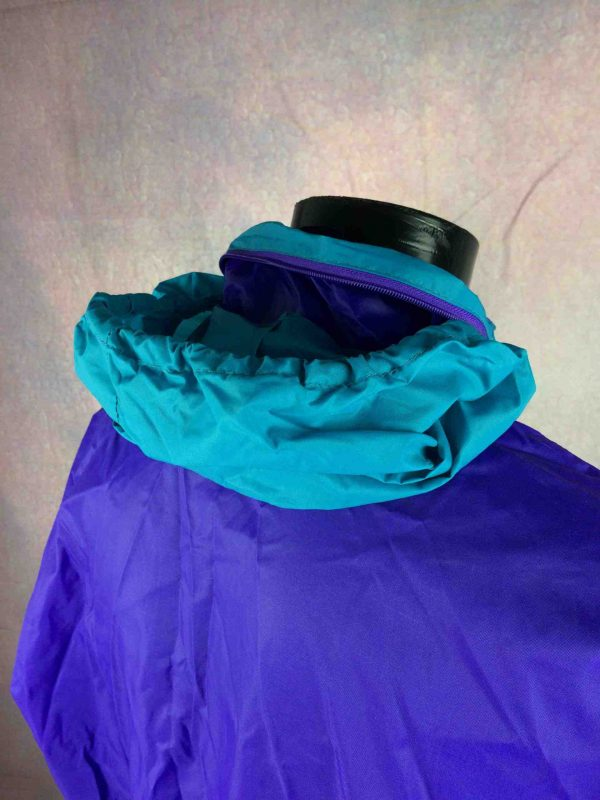 K WAY International Rain Jacket Vintage 90s Gabba Vintage 7 scaled - K-WAY International Veste Impermeable Vintage Années 90s Nylon Capuche
