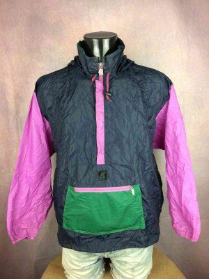 K-WAY Rain Jacket Vintage 90s Made in CEE - Gabba Vintage