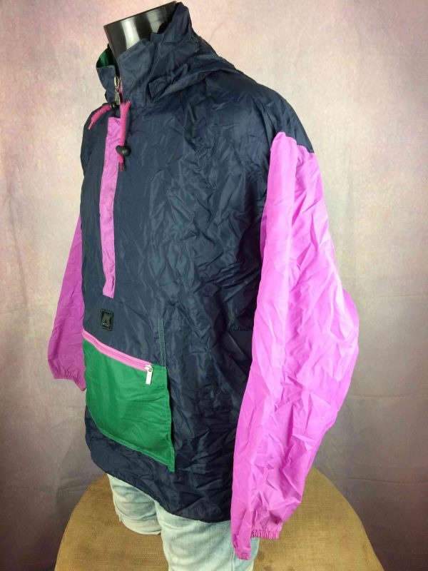 K WAY Rain Jacket Vintage 90s Made in CEE Gabba Vintage 6 scaled - K-WAY Rain Jacket Vintage 90s Made in CEE