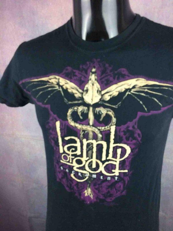 LAMB OF GOD T Shirt Sacrament Official 2007 Gabba Vintage 3 scaled - LAMB OF GOD T-Shirt Sacrament Official 2007