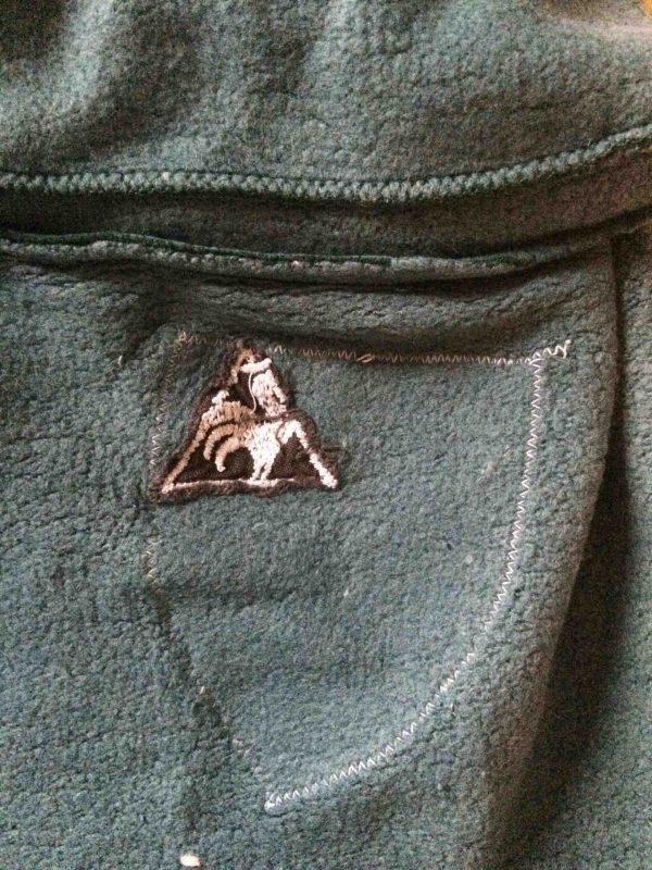LE COQ SPORTIF Jacket Vintage 70s Patch Gabba Vintage 1 scaled - LE COQ SPORTIF Veste Vintage 70s Patch