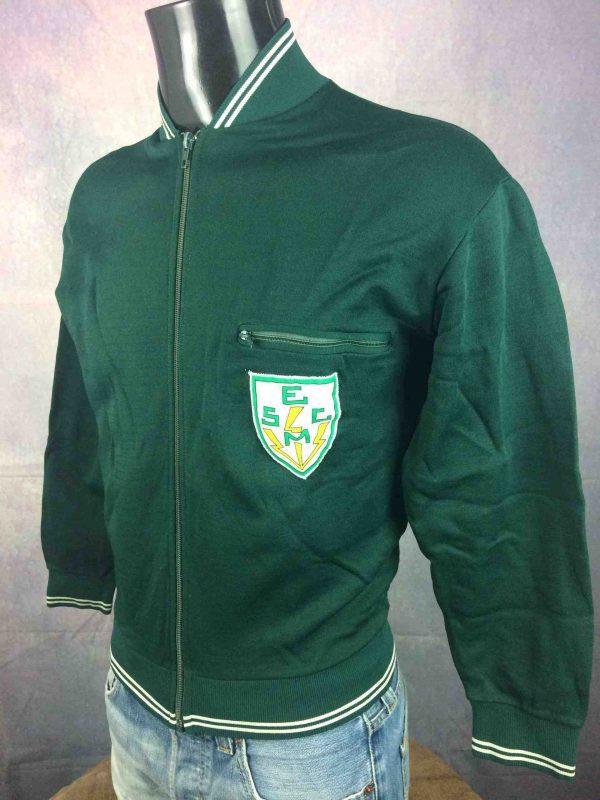 LE COQ SPORTIF Jacket Vintage 70s Patch Gabba Vintage 3 scaled - LE COQ SPORTIF Veste Vintage 70s Patch