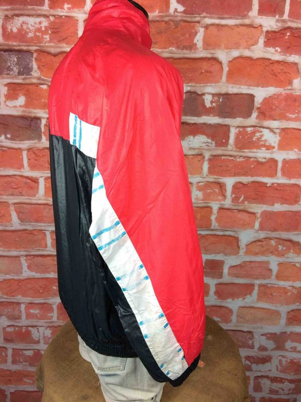 LE COQ SPORTIF Veste 90s Windbreaker Nylon Gabba Vintage 4 scaled - LECOQSPORTIF Veste Vintage Année 90s Wind