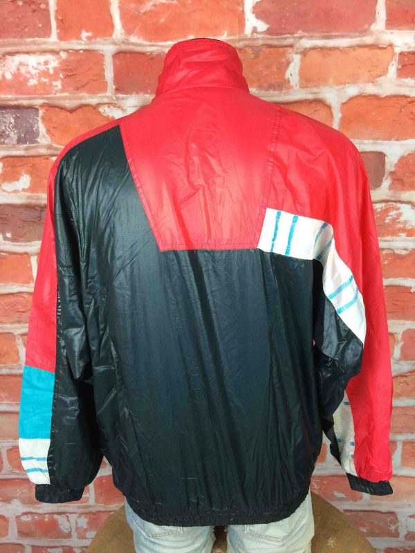 LE COQ SPORTIF Veste 90s Windbreaker Nylon Gabba Vintage 7 scaled - LECOQSPORTIF Veste Vintage Année 90s Wind