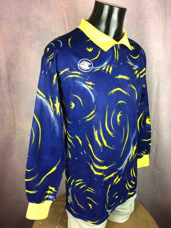 LE ROC Jersey Vintage 90s Goalkeeper 1 Gabba Vintage 3 scaled - Maillot Goal Le Roc Vintage Année 90 Porté #1