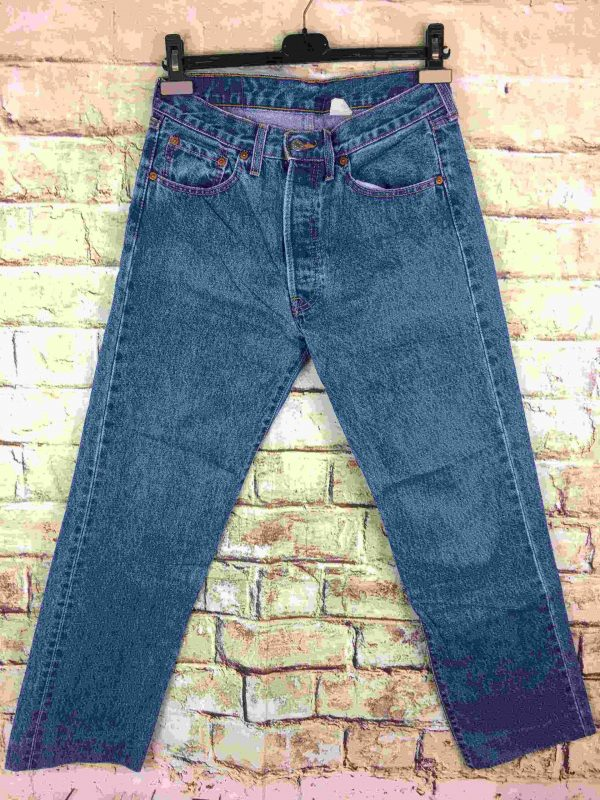 LEVI STRAUSS 501 Ourlet Light VTG W30 L32 14 Gabba Vintage 5 scaled - LEVIS 501 Light Blue Vintage W30 L32 14