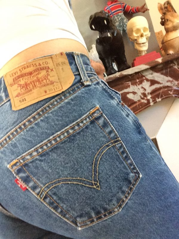 LEVI STRAUSS 501 Ourlet Light VTG W30 L32 rotated - LEVI STRAUSS 501 Ourlet Light VTG W30 L32 14