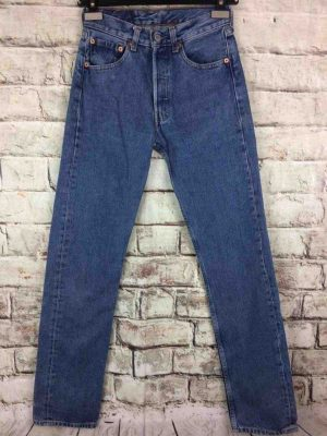 LEVI STRAUSS 501 Vintage W26 L36 Light Blue 8 - Gabba Vintage