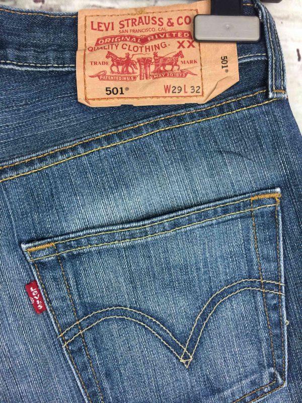 LEVI STRAUSS 501 Vintage W29 L32 Mid Blue 5 Gabba Vintage 7 scaled - LEVI STRAUSS 501 Vintage W29 L32 Mid Blue 5