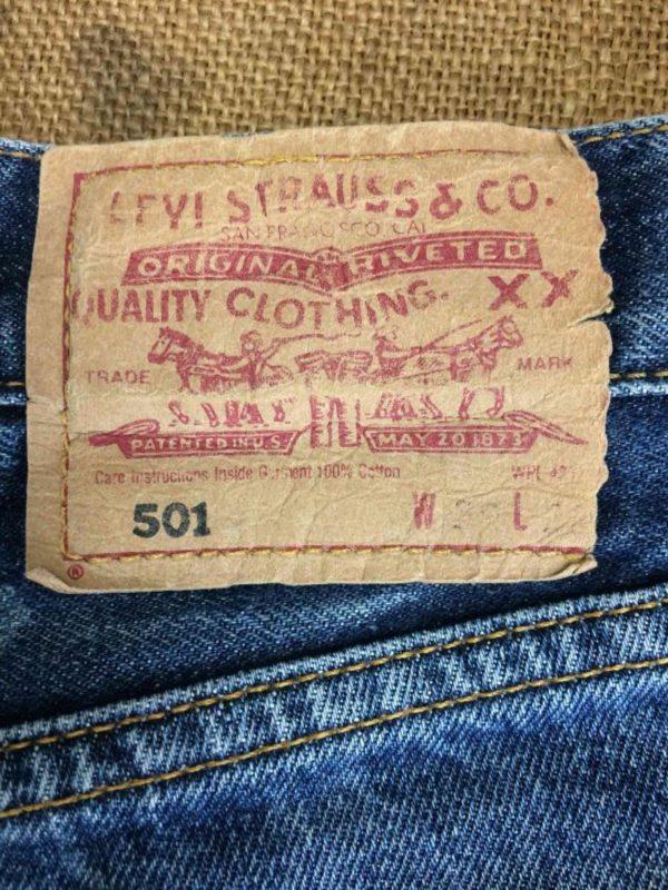 LEVI STRAUSS 501 Vintage W29 L32 Mid Blue 6 Gabba Vintage 1 rotated - LEVI STRAUSS 501 Vintage W29 L32 Mid Blue 6