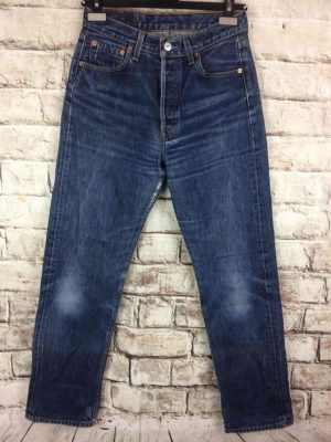 LEVI STRAUSS 501 Vintage W29 L32 Mid Blue 6 - Gabba Vintage