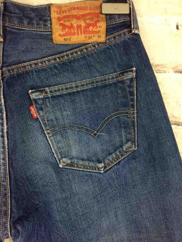 LEVI STRAUSS 501 Vintage W32 L30 Mid Blue 11 Gabba Vintage 1 rotated - LEVI STRAUSS 501 Vintage W32 L30 Mid Blue 11