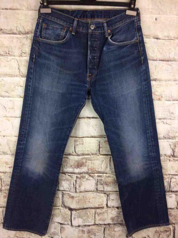 LEVI STRAUSS 501 Vintage W32 L30 Mid Blue 11 - Gabba Vintage