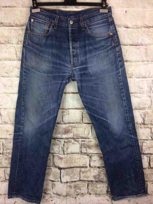 LEVI STRAUSS 501 Vintage W33 L32 Mid Blue 10 - Gabba Vintage