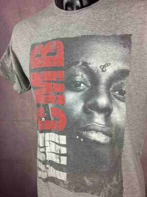 T-Shirt LIL WAYNE, marque YMCMB, Rappeur Prod USA Hip Hop Solo Cash Money Mixtapes Tattoo