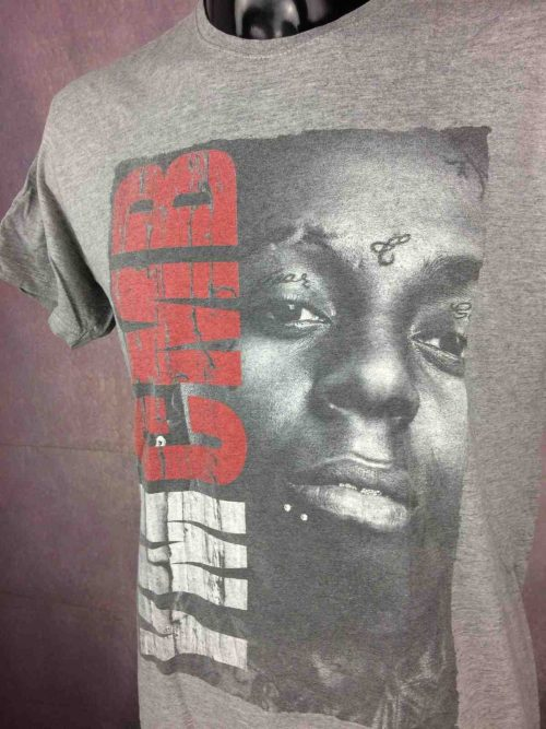 T-Shirt LIL WAYNE, marque YMCMB, Rappeur Prod USA Hip Hop Solo Cash Money Mixtapes Tattoo