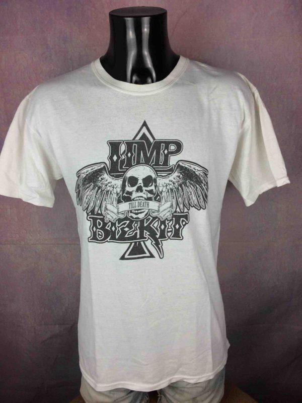 LIMP BIZKIT T Shirt Till Death Metal Logo Gabba Vintage 2 scaled - LIMP BIZKIT T-Shirt Till Death Metal Logo