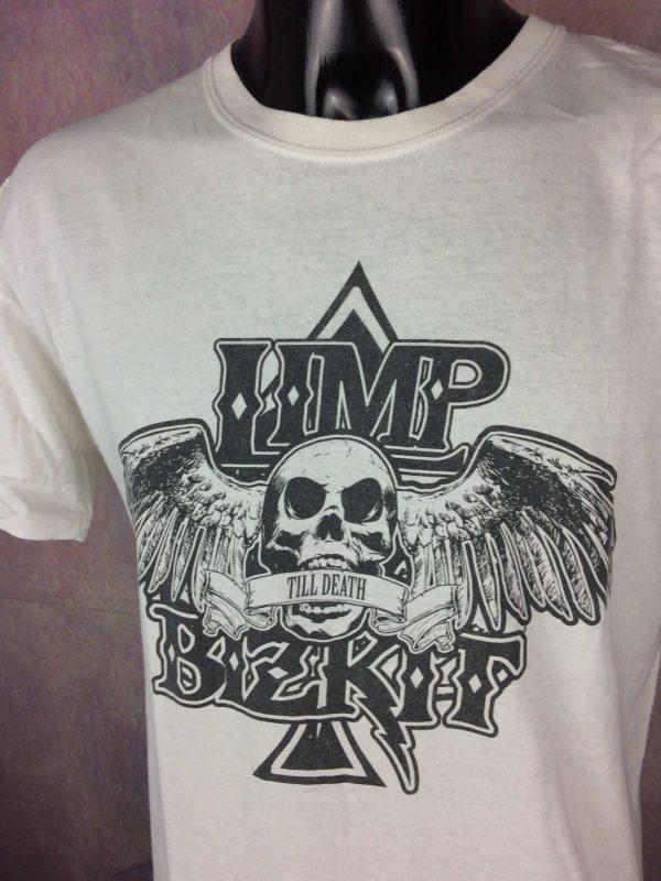 LIMP BIZKIT T Shirt Till Death Metal Logo Gabba Vintage 3 scaled - LIMP BIZKIT T-Shirt Till Death Metal Logo