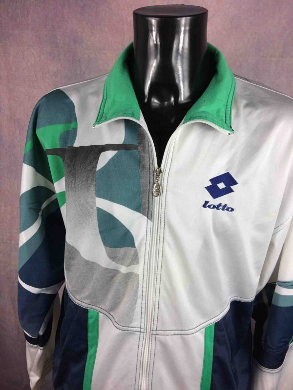 LOTTO Veste Tennis Italiano Vintage 90s Gabba Vintage 6 scaled - LOTTO Veste Tennis Italiano Vintage 90s