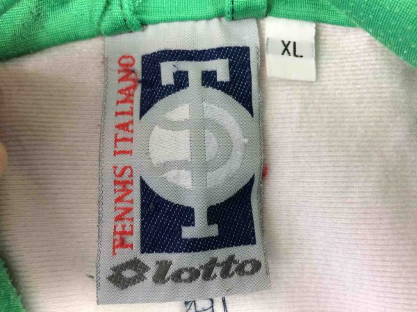 LOTTO Veste Tennis Italiano Vintage 90s Gabba Vintage 8 scaled - LOTTO Veste Tennis Italiano Vintage 90s