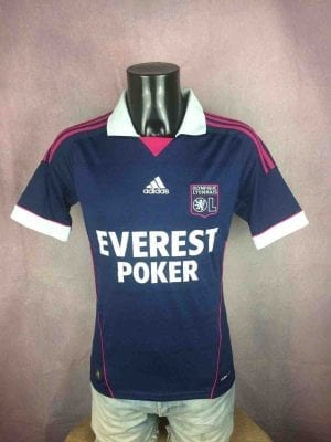 LYON Maillot Adidas Away 2011 2012 OL Ligue1 - Gabba Vintage