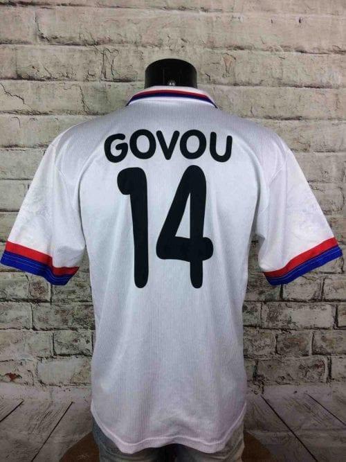 Maillot Olympique Lyonnais, Floqué Govou N° 14, Replica, Saison 2003 – 2004, version Home, Lyon Ligue 1 France Jersey Football Homme