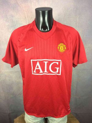 MANCHESTER UNITED Jersey 2007 2009 Home Nike - Gabba Vintage