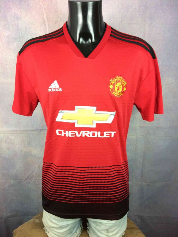 MANCHESTER UNITED Jersey Pogba 2018 Adidas - Gabba Vintage