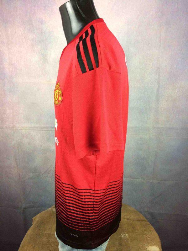 MANCHESTER UNITED Jersey Pogba 2018 Adidas Gabba Vintage 4 scaled - MANCHESTER UNITED Maillot Pogba 2018 Adidas