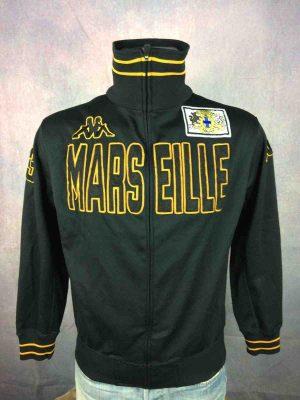 MARSEILLE Jacket Kappa France OM Patch Black - Gabba Vintage (2)