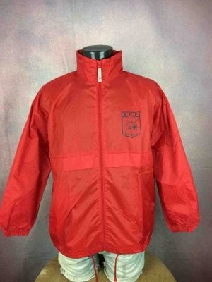 MARSEILLE Windbreaker Ecole Nationale Police - Gabba Vintage