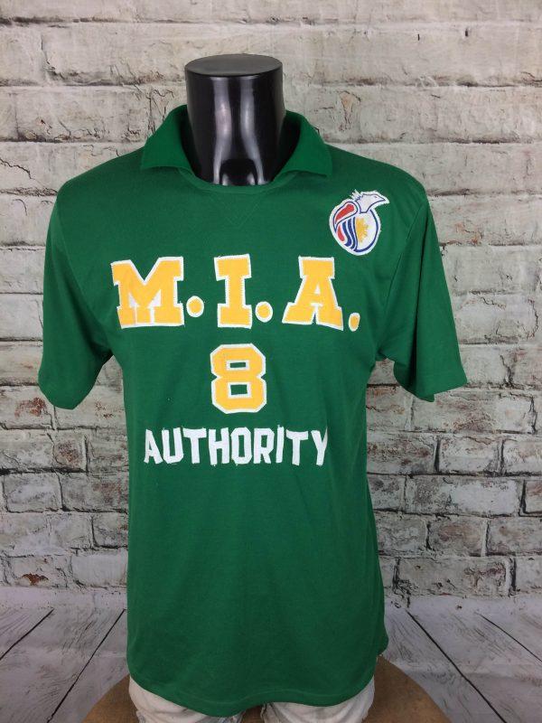 MIA Jersey Authority #8 Menoza Vintage 80s - Gabba Vintage