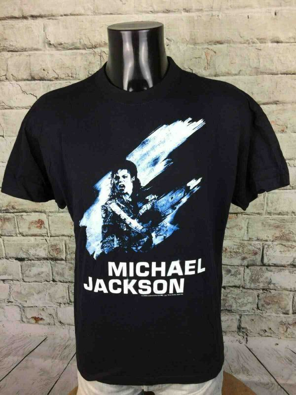 T-Shirt MICHAEL JACKSON, Official License, Année2008 2010, Concert History King Of Pop