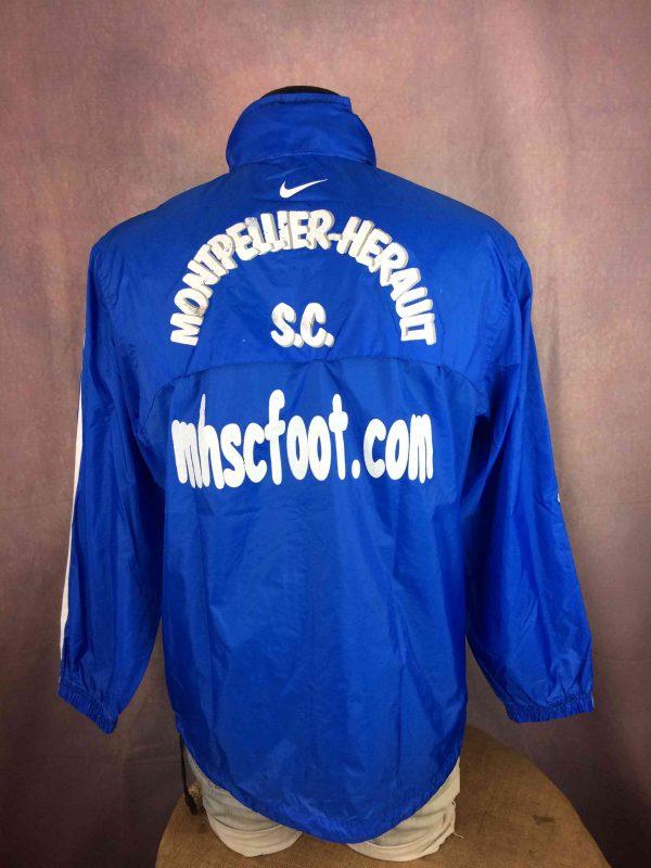 MONTPELLIER HERAULT SC Rain Jacket Nike L1 - Gabba Vintage